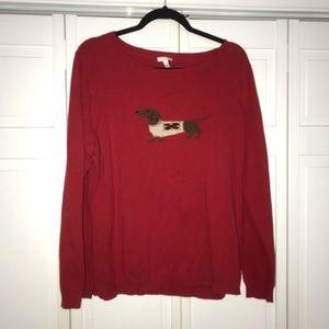 Talbots Dog Sweater